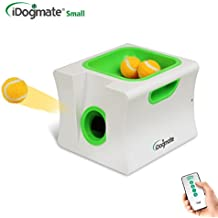 IDOGMATE Small Dog Ball Launcher Automatic Ball Thrower for Dogs, Include 3...