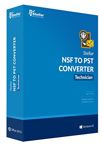 Lotus Notes 7 Download (Stellar NSF to PST Converter Technician - Lifetime)