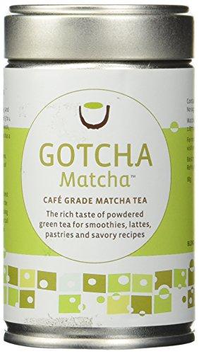 Gotcha Matcha Cafe Grade for Lattes and Smoothies 80g tin