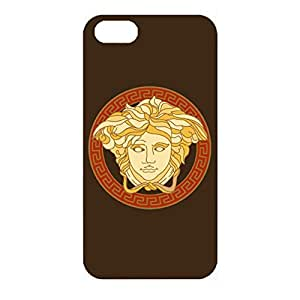 Personal Series Luxury Versace Logo Phone Accessory 3D Stylish Plastic Case Snap on Iphone 4/4s with Luxury Versace Logo