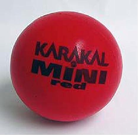 Karakal Mini Balón de espuma pelotas de tenis (6 unidades): Amazon ...