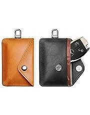 FANACAN Car Key Signal Blocker Pouch 2 Pack,RFID Blocker Bag for Car Security,Keyless Signal Blocking Key Case