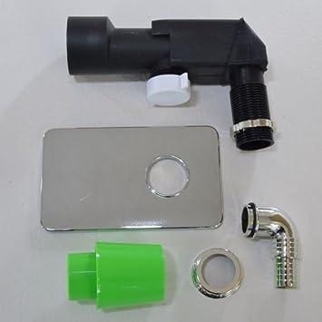 Unterputz Geräte-Sifon Siphon für Waschmaschinenablauf Waschmaschinenanschluss