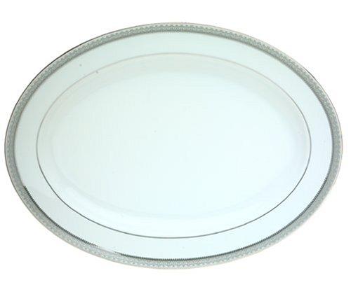 Mikasa Platinum Crown Oval Platter, 14