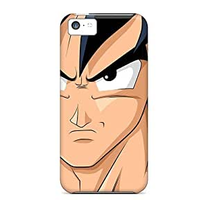YaF4870Enkq Phone Case With Fashionable Look For Iphone 5c - Dragon Ball Z Goku