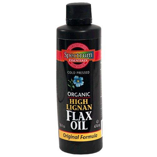 Spectrum Essentials Organic Enriched Flax Oil, 16 Fluid Ounce