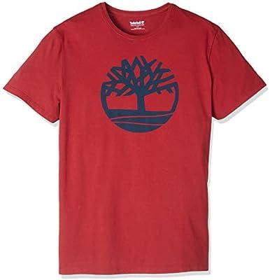 Timberland Men's Ss Kennebec River Brand Regular Tee (Tree