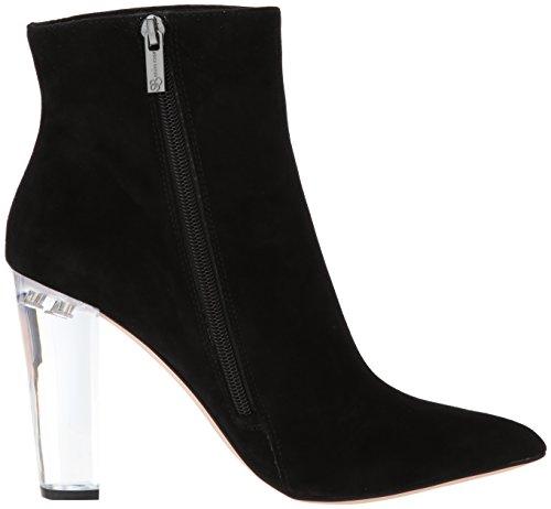 Jessica Simpson Dames Teddi Fashion Laars Zwart Suède