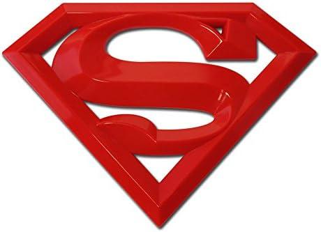 Red Acrylic Super 3D Auto Emblem