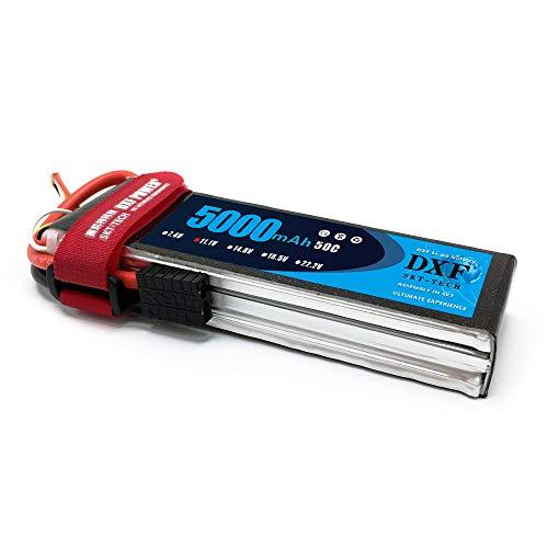 DXF 5000mAh 11.1V 50C 3S lipo Battery with Traxxas TRX Plug for Traxxas Truck Rc Cars Slash Buggy RC Truggy RC Airplane UAV Drone FPV RC Hobby