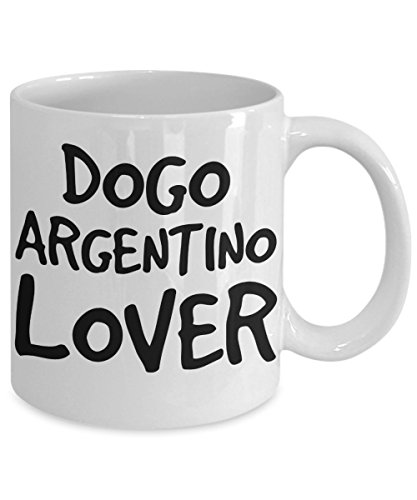 Dogo Argentino Lover Mug - White 11oz Ceramic Tea Coffee Cup - Perfect For Travel And Gifts 2