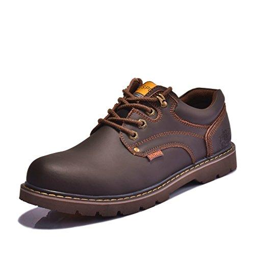 反対立派な磁石[QIFENGDIANZI] カジュアルシューズ メンズ デッキシューズ ローカット スリッポン アウトドア ウォーキングシューズ 通気性抜群 紳士靴 シューズ 軽量 レースアップ フラット 耐久性 オシャレ 4色