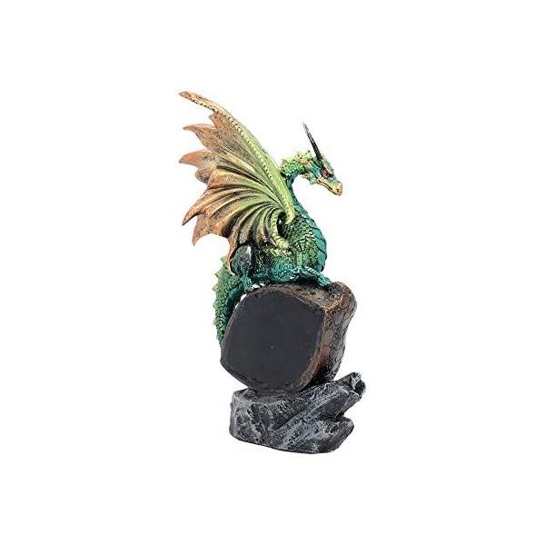 Eye Of The Dragon Green Figurine
