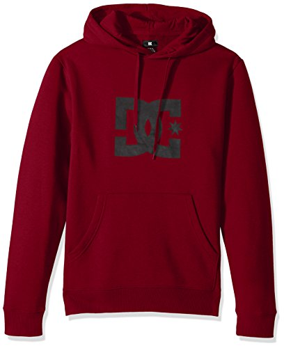 Dc Red Sweatshirt (DC Men's Star PH Hoodie Sweatshirt, Rio Red, Medium)