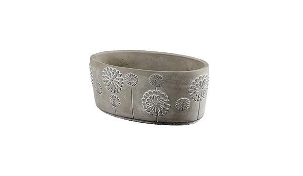 Ellipse - Molde de silicona para maceta de hormigón, hecho a mano, herramienta de decoración de cemento: Amazon.es: Juguetes y juegos