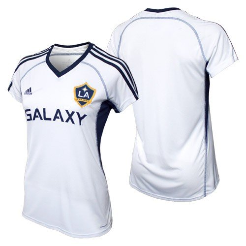 Adidas La Galaxy Home Jersey - MLS Los Angeles Galaxy Women's Replica Home Jersey, Medium