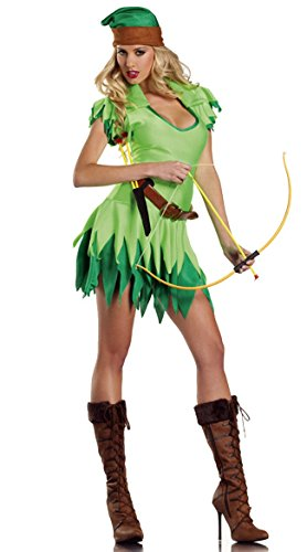 Sexy Female Robin Costumes - HPLY Costumes Halloween Cosplay Women Peter Pan Robin Hood Costume