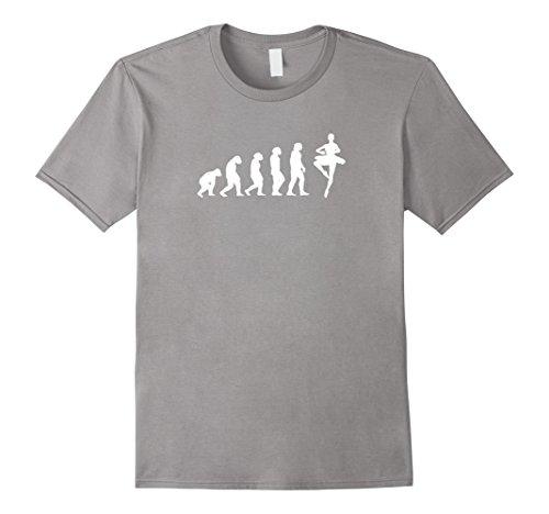 Mens Evolution Ballet Ballerina Novelty Gifts Idea T-shirt Medium Slate
