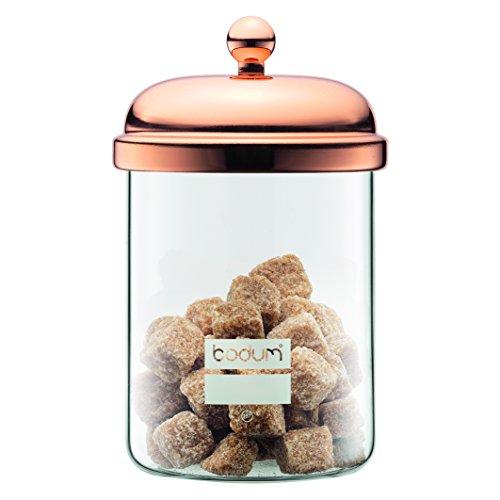 Bodum 11713-18 Chambord Classic Storage Jar, 17 oz, Copper Bodum Glass Storage Jars