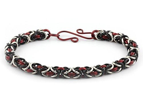 Weave Bracelet Byzantine - Weave Got Maille 3-Color Byzantine Chain Maille Bracelet Kit, New York New York