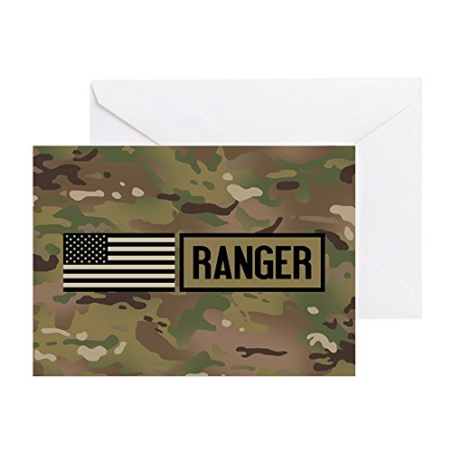 y: Ranger (Camo) - Greeting Card, Note Card, Birthday Card, Blank Inside Glossy ()