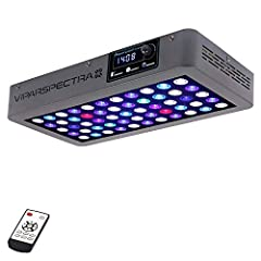 Welcome to the VIPARSPECTRA Timer Control Series V165 Dimmable 165W LED Aquarium Light, with full spectrum layout, built in timer, dimmable ability and advanced heat dissipation system, specially designed to provide perfect lighting environme...