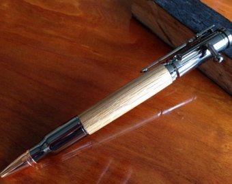 Bullet Pen Bolt Action JD Wood Barrel