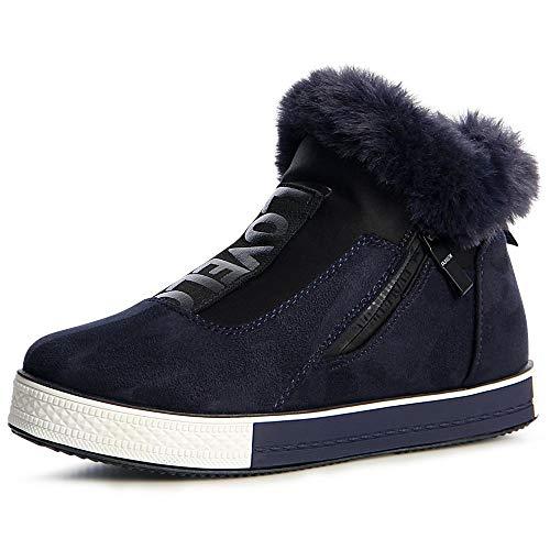 Topschuhe24 Topschuhe24 Bleu Femmes Mocassins Femmes Chaussures Z0xdzqf