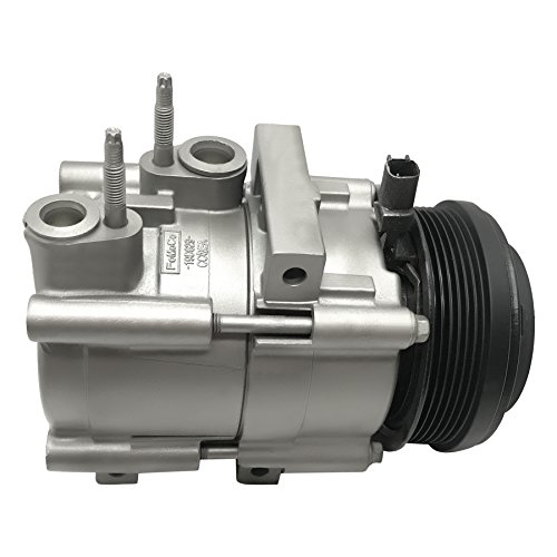 RYC Remanufactured AC Compressor and A/C Clutch FG185 (2010 Lincoln Town Car Signature Limited Sedan)