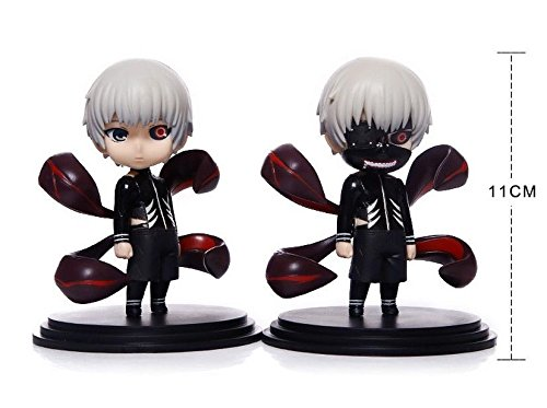 NEW Anime 2PCS Cartoon Tokyo Ghoul Kaneki Ken Awakened Toy Figure Doll New In Box