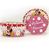 50 Minnie Mouse Polka Dot Cupcake Cake Cases