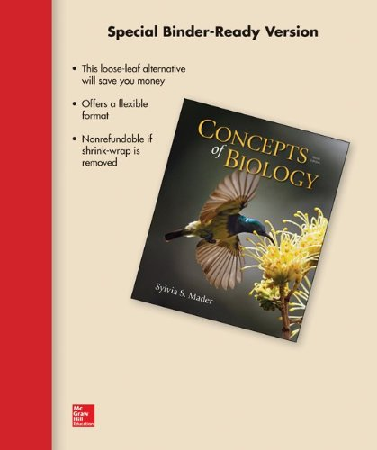 Concepts Of Biology (Looseleaf)