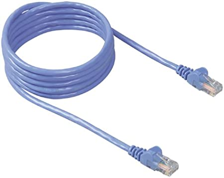 Cat5e Ethernet Patch Cable CNE485350 Snagless//Molded Boot 3 Feet Yellow