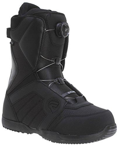 Flow VEGA BOA COILER Black Men's Snowboard Boots