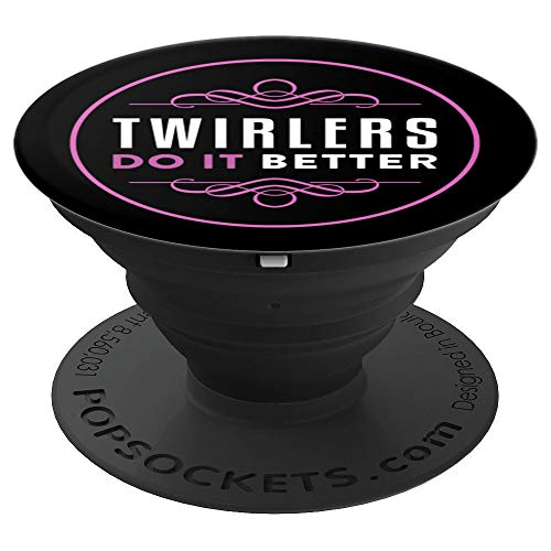 Baton Twirling Pattern For Twirler | Kids Athlete Rod Toss - PopSockets Grip and Stand for Phones and Tablets -
