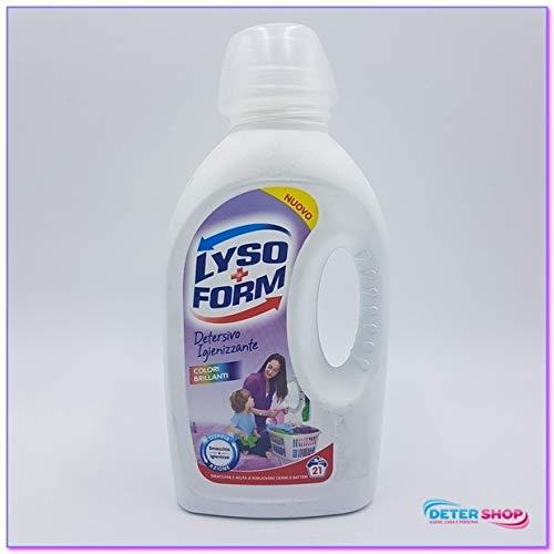 Lysoform Detergente Lavadora líquido 21 Lavados Salva Color 1,365 ...