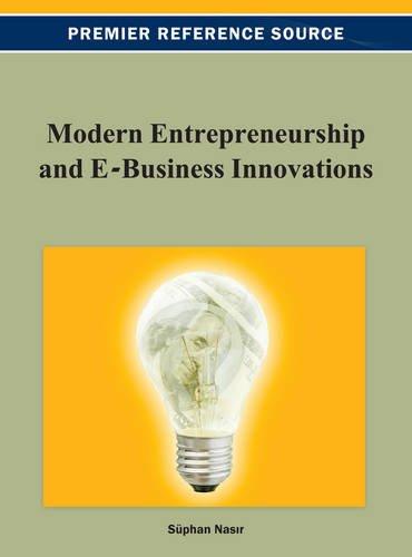 Modern Entrepreneurship and E-Business Innovations Pdf