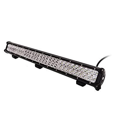 "KAWELL? 54W 9"" CREE DC 9-32V 6000K 3780 LM LED for ATV/Jeep/boat/suv/truck/car/atvs/fishing light Off Road Waterproof Led Work Spot and Flood Combo Beam Light Bar"
