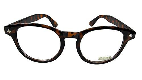 Johnny Depp Style Men's Glasses Sunglasses Black or Tortoise (Tortoise) by OEM