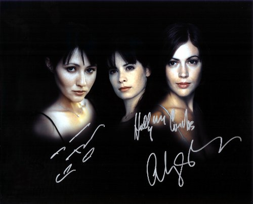 Charmed TV Show with Alyssa Millano As the Charmed Ones Cast Signed Autographed 8 X 10 Reprint Photo - Mint...