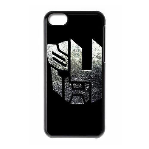 Fond film en noir logo D8H3MX coque iPhone 5c cellulaire cas de téléphone couvercle coque DI6ZKG0IV noir K8K73