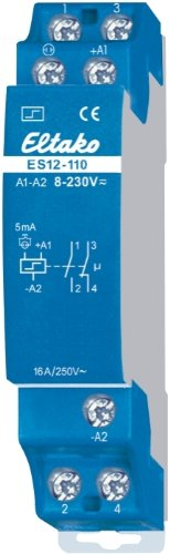 Eltako ES12-110-8 230V UC T/él/érupteur Import Allemagne