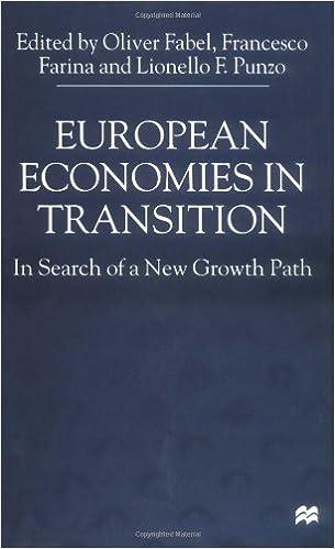 european economics in transition punzo lionello f farina francesco fabel oliver professor