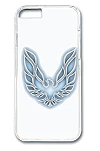 iPhone 4 4s Case - Protective Fitted Smooth Cover Case for iPhone 4 4s Firebird Car Logo 6 Clear Hard Back Bumper Cases for iPhone 4 4s es