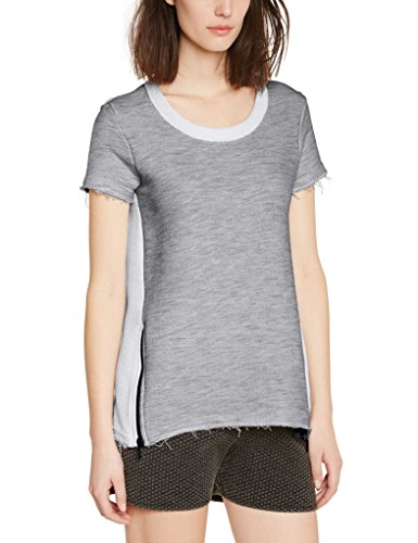 Eleven Paris Bassus W - Camiseta Mujer Grau (DARK GREY CHINE M04)