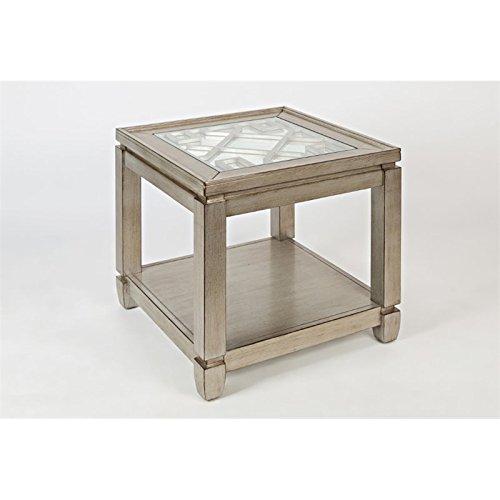 "Jofran: 1551-3, Casa Bella, Square End Table, 24""W X 24""D X"
