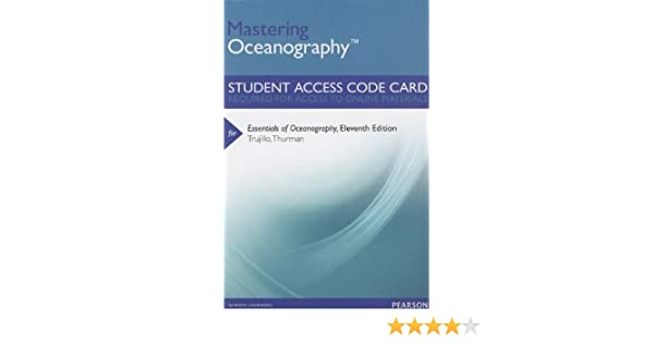 Masteringoceanography standalone access card for essentials of masteringoceanography standalone access card for essentials of oceanography 11th edition mastering oceanography access codes alan p trujillo fandeluxe Image collections