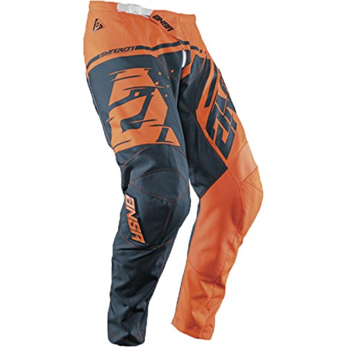 Answer Racing A18.5 Syncron Men's Off-Road Motorcycle Pants - Fluorescent Orange/Blue / Size 30