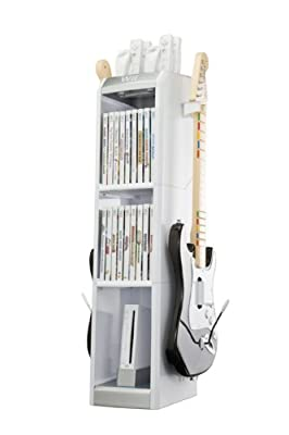 Levelup Wii Factor Game Storage Tower Black from Level Up