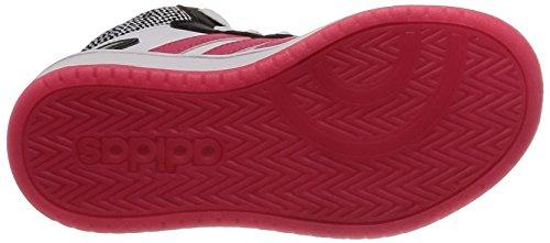 Hoops 0 Schwarz 000 adidas Rosrea Mid Kinder Ftwbla Unisex 2 Negbas Fitnessschuhe wqA0EX4